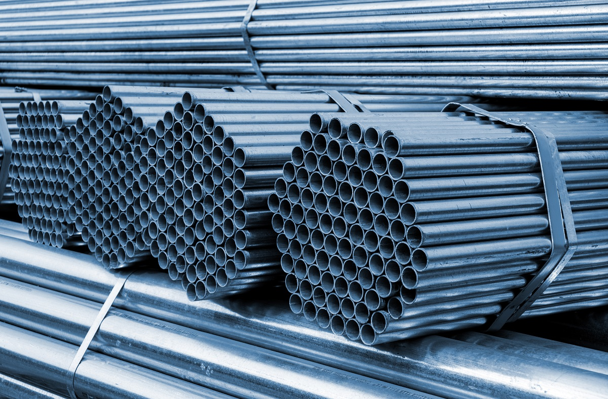 The hollow steel tube