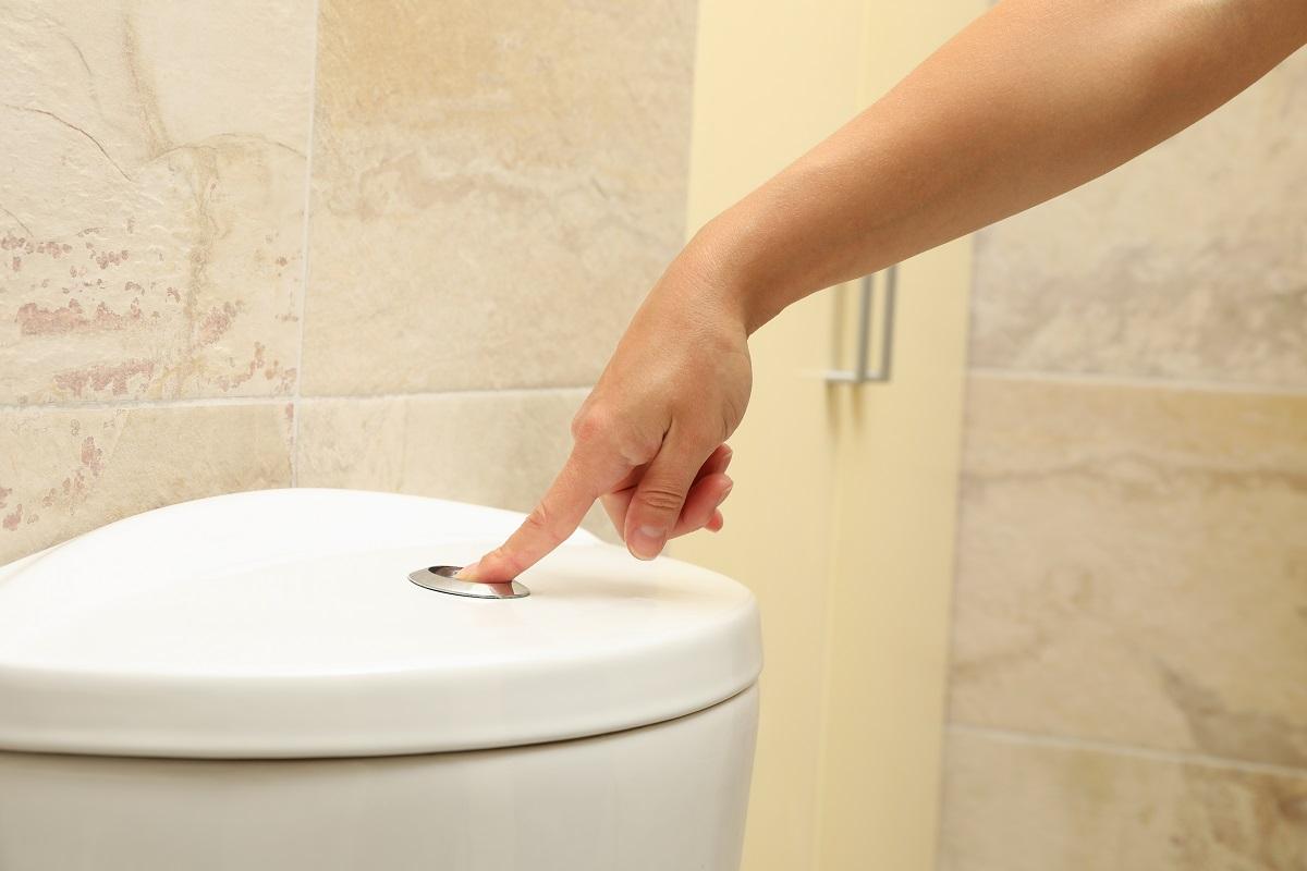 Avoid Flushing or Draining Clogging Materials